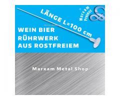MARXAM Kochlöffel Löffel aus Rostfreier Stahl Wein Bier Rührwerke L=100cm