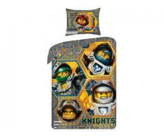Bettwäsche Lego Nexo Knight 70x90cm/140x200cm 100% Baumwolle Reißverschluss