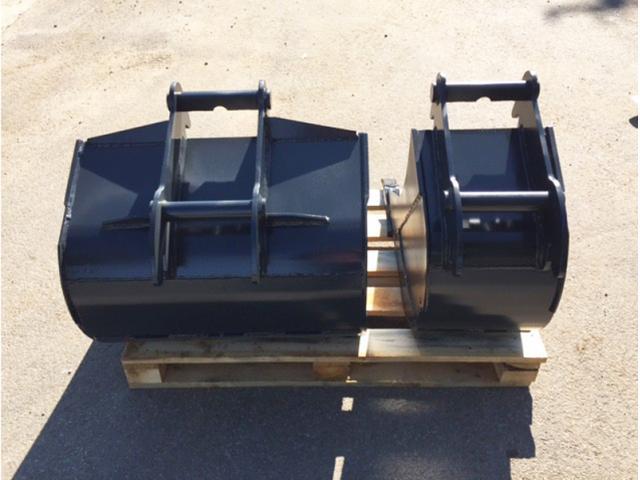 Tieflöffel für Minibagger 0,8 - 2,0 Tonnen Breite 30 cm Inhalt 26