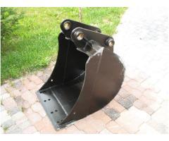 Tieflöffel für Minibagger 0,8 - 2,0 Tonnen Breite 50 cm Inhalt 49