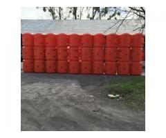 Kunststoffschwimmer für Hydrotransport 315 mm Polyethylen Rot