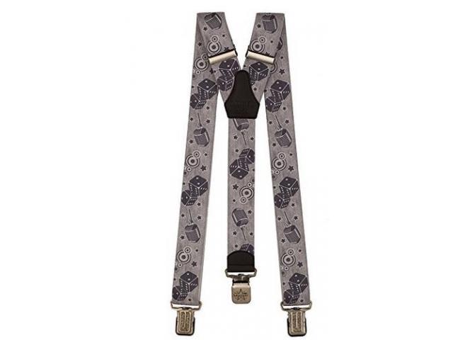 Hosenträger für Männer Y Form, 4cm breit, 130 lang