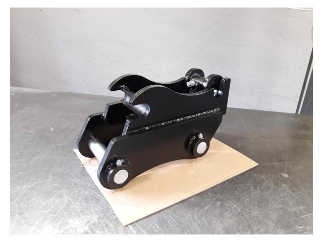 Schnellkupplung mit Bolzenaufname Minibagger 20-30 mm