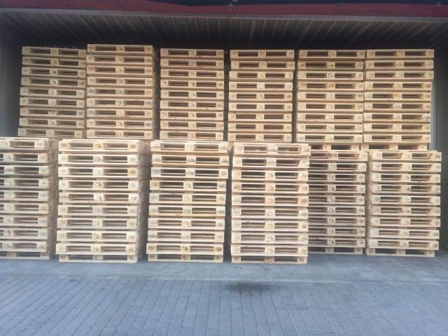 Paletten Holzpaletten Europaletten EPAL/EUR Neu 760 Stk.