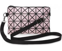 3D Damentasche Clutch - Tasche kleine Schultertasche rosa