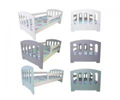 Kinderbett Babybett Jugendbett Matratze 70x140 mit Bettkaste