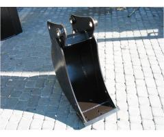 SONDERANGEBOT Tieflöffel für Minibagger 0,8 - 2,0 Tonnen Breite 30 cm Inhalt 26