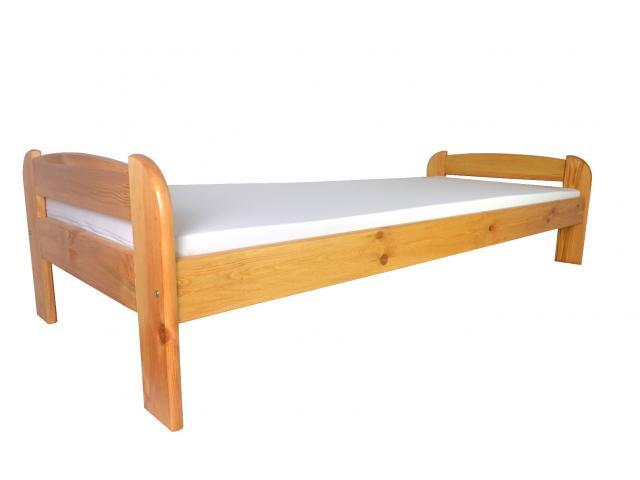 Bett s90/s80 Kieferbett 80x200 90x200 Lattenrost 5 Farben Holzbett Doppel lackiert