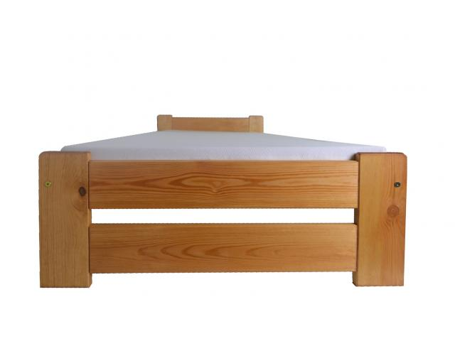 Bett Kieferbett 80x200 90x200 Lattenrost 5 Farben Holzbett Doppel lackiert