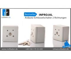 Automatik  » Inprojal  » Kabelsteuerung  » INPROJAL Aufputz Schlüsselschalter 2 Richtungen