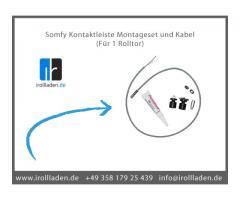 Somfy » Funkzentralle AXROLL » Somfy Kontaktleiste Montageset und Kabel