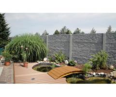 Betonzaun Zaunsysteme Zäune Gartenzäune Zäune aus Beton
