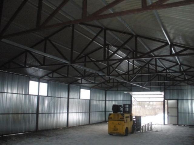 Stahlhalle Lagerhalle Garage Gerätehaus Motorrad- und Fahrradgaragen 8,5 x 18m Aufbau gratis