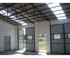 9 x 8 m Blechgarage Garage halle Lagerhaller Lager Autolager Stahlhalle