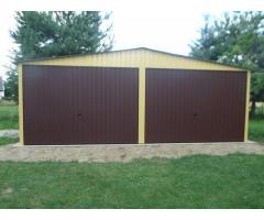 Autolager Garage Schuppen Lagerhalle 6x6m kostenloser Versand + Montage