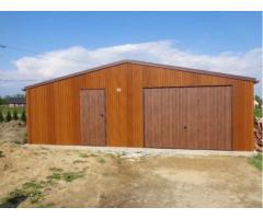 Fertiggarage Garage Stahlhalle 8m x 6m KOSTENLOSER VERSAND UND AUFBAU INNERHALB GANZEN DEUTSCHLANDS
