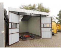 Garage aus Blech Fertiggarage Stahlhalle 5m x 8 m x 3,30m inkl Montage Lieferung