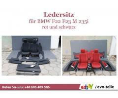 BMW F22 F23 M 235i Sitz Ledersitz Türverkleidung Komplett Set