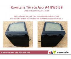 Komplette Tür für Audi A4 8W5 B9 linke hinten und rechte hinten