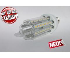 E27 16W Neue LED Lampe 4U16W mit CCD Spannungswandler Leuchte