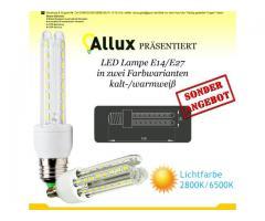 Lampe LED Beleuchtung 2U E14/E27 8W 2 Jahren Garantie!