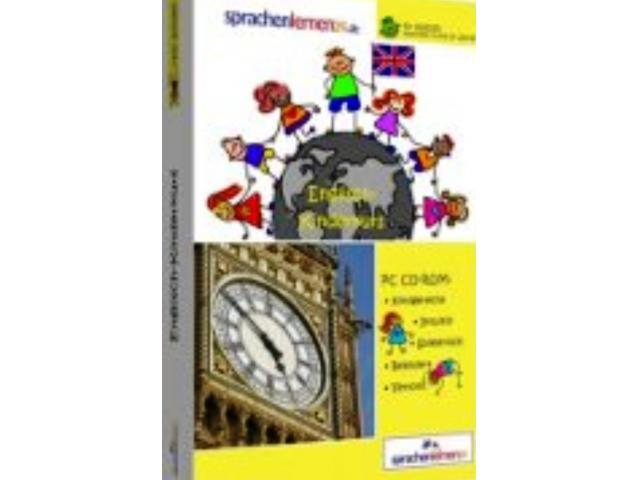 Kindersprachkurs Englisch auf CD ROM