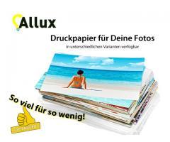 Druckpapier Fotopapier Papier DIN 10x15 13x18 A4 120-270 gsm v.A.